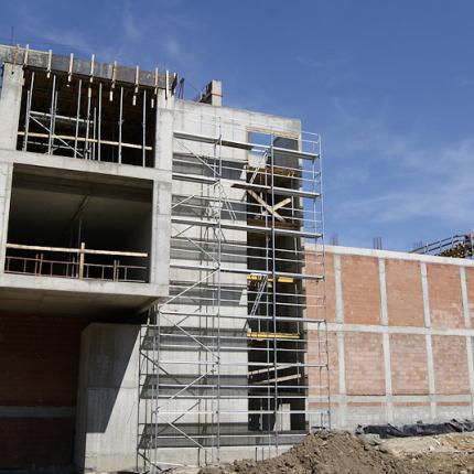 COS - budowa hali
