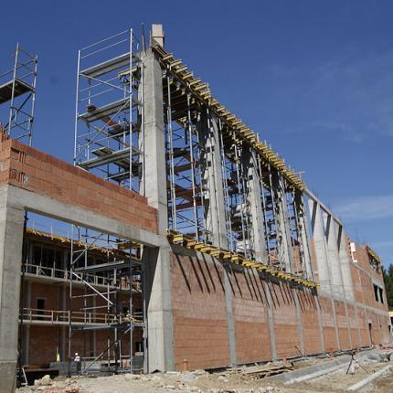 Main Sports Center (COS) – Construction of an arena