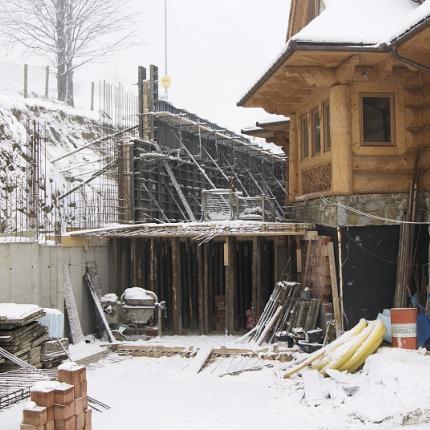 Rozbudowa parteru budynku