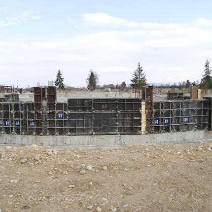 Budowa Hotelu - Czarny Dunajec