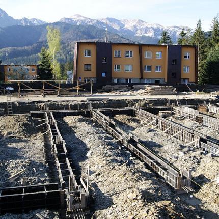 Budowa punktu usługowego Karpielówka - Kościelisko