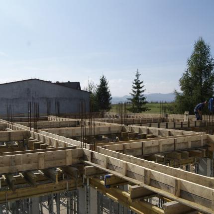 Budowa hali produkcyjnej Kluszkowce