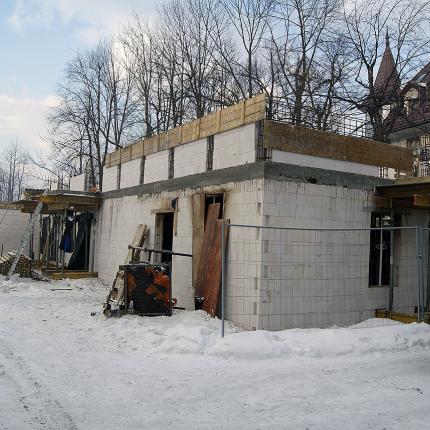 budowa budynku przy ul. Krupówki