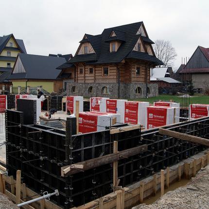 Budowa budynku jednorodzinnego ul. Jana Pawła II Biały Dunajec