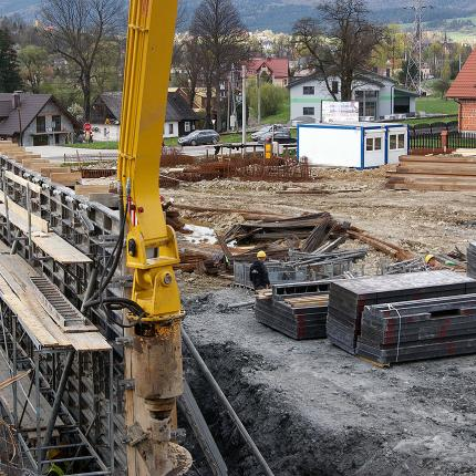 Construction of a manufacturing plant in Rabka-Zdrój