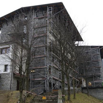 Remont elewacji i dachu Schronisko PTTK Kalatówki