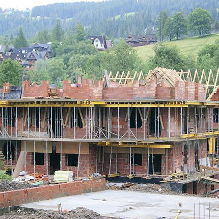 Budowa budynku wielorodzinnego w Zakopanem