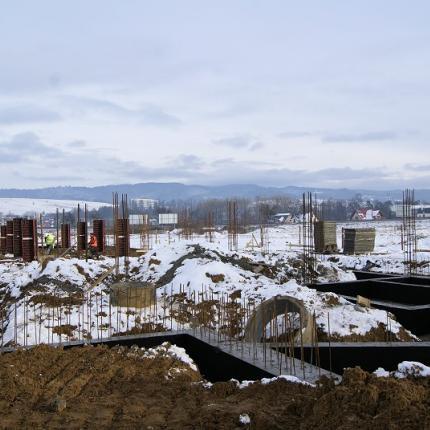 Budowa hali produkcyjnej w Nowym Targu