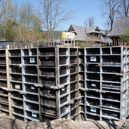 Budowa domu jednorodzinnego - ul. Kasprusie