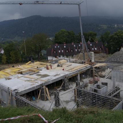Apartamenty Zakopane - budowa
