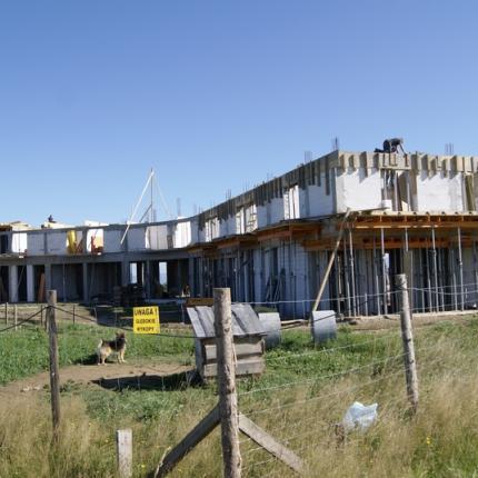 Budowa hotelu Spa - Bachledówka