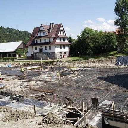 Rozbudowa pensjonatu Białka Tatrzańska