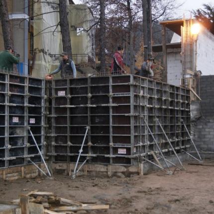 montaż deskowań ściennych - Zakopane