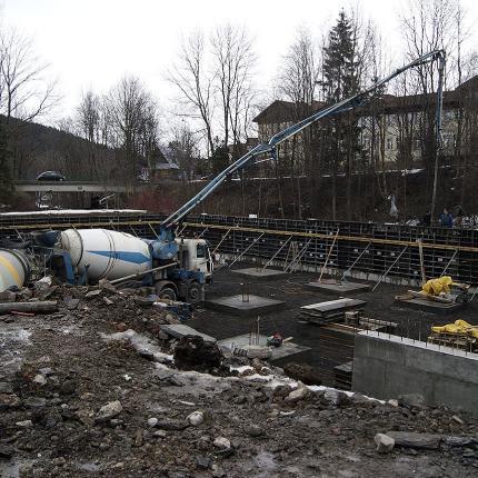 Budowa garażu podziemnego przy ul. Orkana w Zakopanem