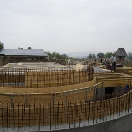 Construction of a church