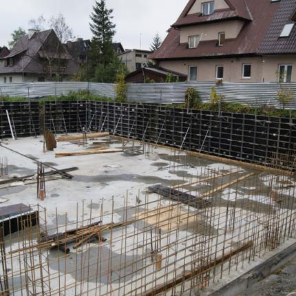 Conversion of a building in Zakopane