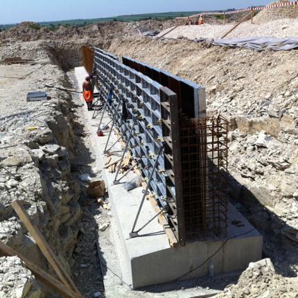 budowa przepustu - deskowania Rasto