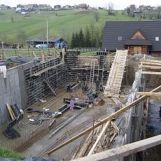Budowa pensjonatu Murzasichle