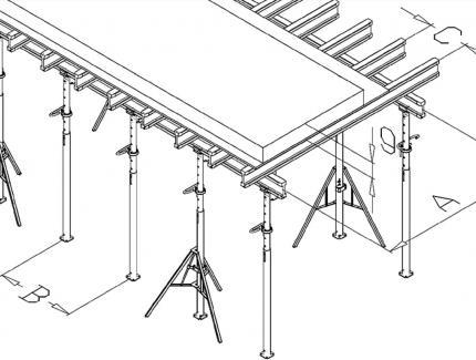 Floor formwork system