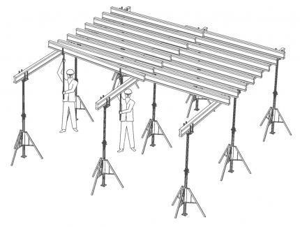 szalunek stropowy