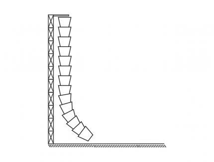 Rubble chutes